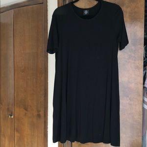 Black swing tunic/dress